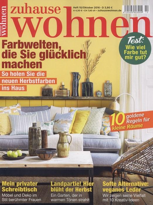 Zuhause_Wohnen_Ausgabe_10_2016_Cover_wetterfester und robuster_Lampion_Barlooon