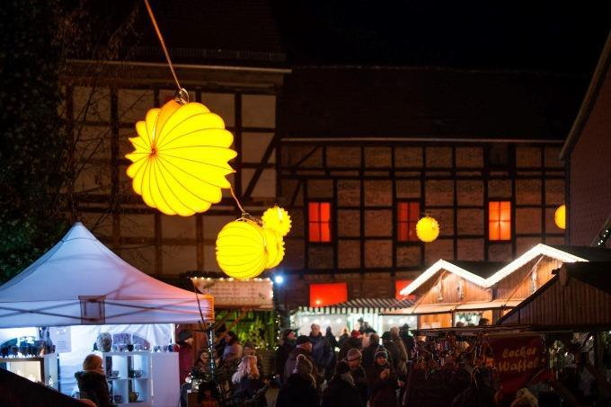 The weatherproof and robust Lampion Barlooon at the Hotel Theophano in Quedlinburg.