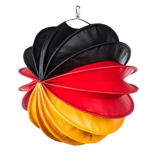 The German version in black-red-yellow from Barlooon in size M.