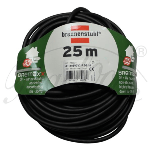Firing chair extension cable 25 meters in black - Lighting accessories for the weatherproof and robust Outdoor Lampion Barlooon.