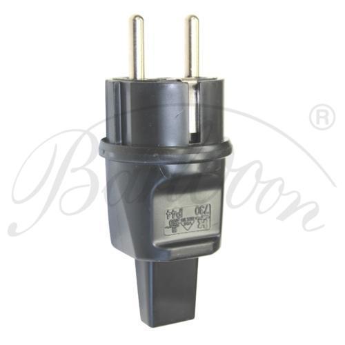 Illu-Kabel der Anschlussstecker in schwarz - Beleuchtungszubehör für den wetterfesten und robusten Outdoor Lampion Barlooon.