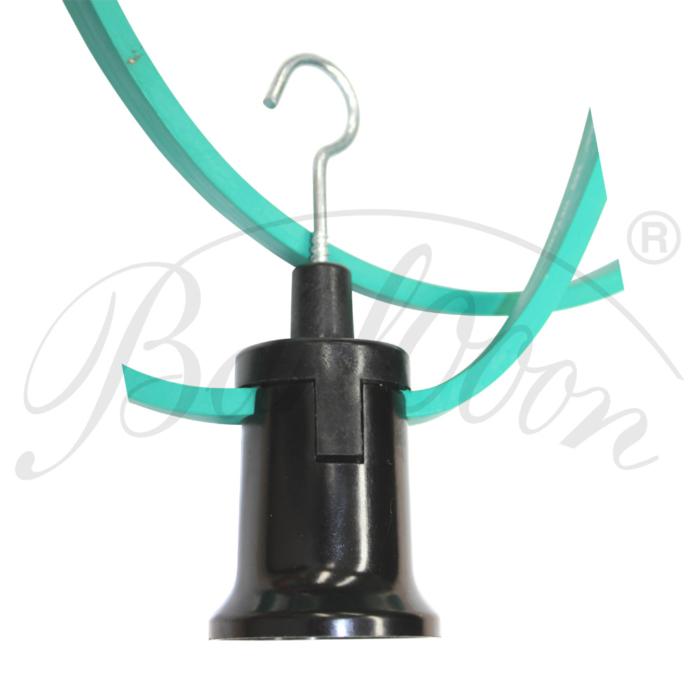 Illu-Fassung E27 mit Haken - Beleuchtungszubehör für den wetterfesten und robusten Outdoor Lampion Barlooon.