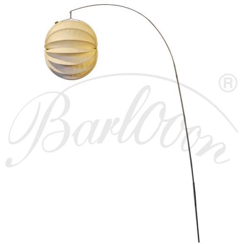 Der Edelstahl-Erdspieß für den wetterfesten und robusten Barlooon Lampion in der Größe M.