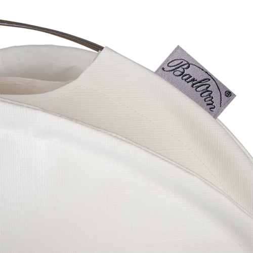 The weatherproof Outdoor Lampion Barlooon in white in size L - The Label.