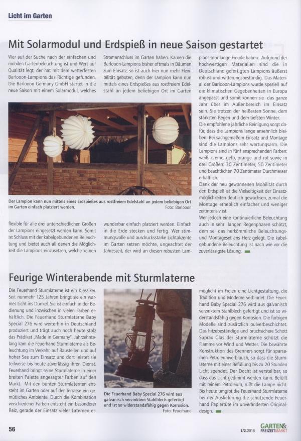Garten_&_Freizeitmarkt_Fachzeitschrift_fuer_den_gesamten_Gartenfachhandel_Ausgabe_1_2_2018_Pressemitteilung_wetterfeste