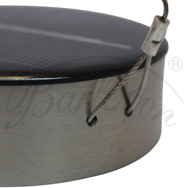 Das LED Solarmodul für den wetterfesten Lampion Barlooon im Detail