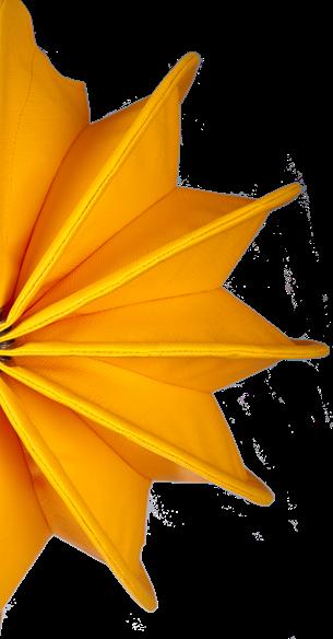 Dieses ist unser kleiner gelber wetterfester Lampion Barlooon in mit einem Durchmesser von 30 cm.