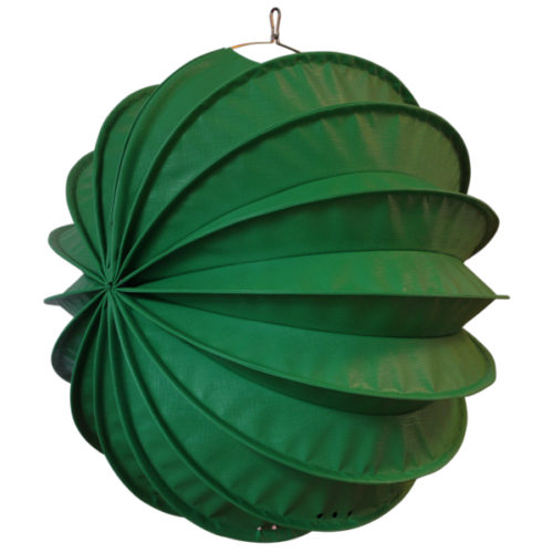 The weatherproof outdoor lampion Barlooon in green in size L