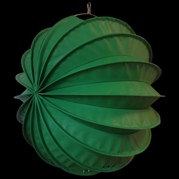 Der wetterfeste outdoor lampion Barlooon in grün in der Größe L