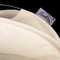 Der wetterfeste Outdoor Lampion Barlooon in creme in der Grösse S - Das Label.