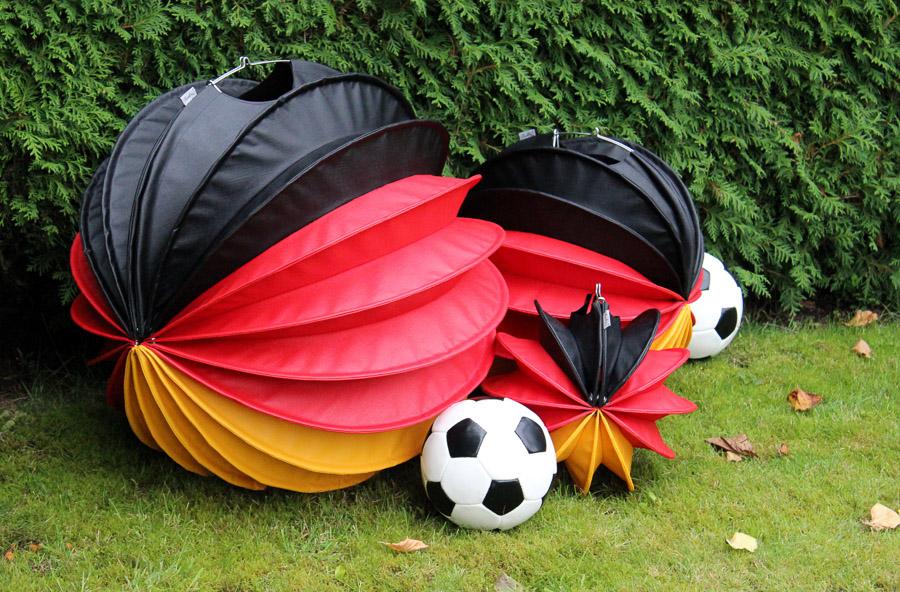 Die Barlooon Deutschland-Edition in schwarz-rot-gelb in den Größen S M und L.