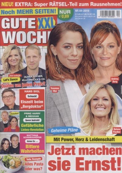 Gute Woche XXL Nr. 04-2019 Pressemitteilung wetterfester Lampion Barlooon Cover