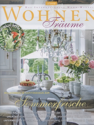 Wohnen Träume 3_2019 Pressemitteilung wetterfester Lampion Barlooon Cover