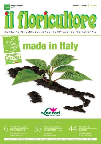 Il Floricultore Rivista Indipendente Del Mondo Florovivaistico Professionale_Ausgabe 5-6 2019_ Pressemitteilung wetterfester Lampion Barlooon Cover