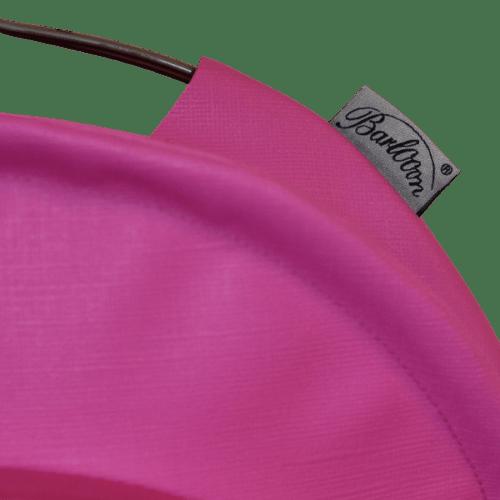 Der wetterfeste Outdoor Lampion Barlooon in pink in der Grösse S - Das Label.